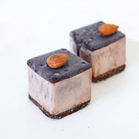 Веганский RAW десерт Шоколад
